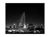 Chicagos Buckingham Fountain, Black & White Photographic Print by Steve Gadomski