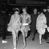 Eric Clapton of the Progressive Rock Group Cream at the Premier of How I Won the War, October 1967 Photographic Print