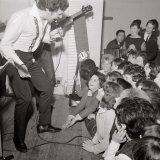 Tom Jones Performing at the Atlanta Ballroom, Woking 1965 Photographic Print