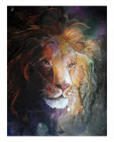 Jungle Lion Photographic Print by Sherry Shipley