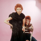 David Bowie and Lulu Opted to Share This Hairstyle Photographic Print