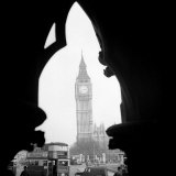 Big Ben and the Houses of Parliament in 1963 Photographic Print