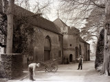 Hampden Stables at Great Missenden, Seat of the Earl of Buckinghamshire, April 1935 Photographic Print