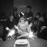 Lulu Celebrating Her 16th Birthday, Decca Record Company, Marlborough Street, London, November 1964 Photographic Print