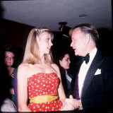 John Mills with Olivia Newton John Australian Actress at a Royal Film Performance, August 1979 Photographic Print