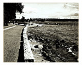 Stanley Park Seawall II Photographic Print by Sari Mcnamee