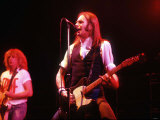 Francis Rossi Playing at the Hammersmiths Odeon with His Band Status Quo Photographic Print
