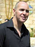 South African Actor, Arnold Vosloo Who Played the High Priest Imhotep in the Movie the Mummy Lámina fotográfica