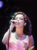 Bjork Icelandic Pop Singer at Glastonbury, 1994 Photographic Print