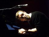 Chris Martin of Coldplay, One Big No Anti War Concert, Shepherds Bush Empire in London, March 2003 Photographic Print