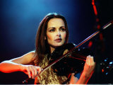 Sharon Corr of the Corrs Concert SECC Glasgow, January 2001 Fotografie-Druck