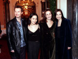 The Corrs at the Central Hotel Glasgow, December 1998 Fotografie-Druck