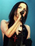 Angela Corr Corrs Concert SECC Glasgow, January 2001 Fotografie-Druck