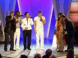 Pride of Britain Awards, the Band Blue Sing to Child of Courage Holly Lishman, March 2003 Photographic Print
