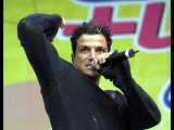 Peter Andre Performing at the Live N Loud Concert at Hampden Park Glasgow, June 2004 Photographic Print