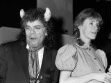 Ian Dury in the Play Talk of the Devil at the Palace Theatre, Watford, with Kate Lock, March 1986 Photographic Print