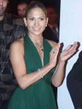 Royal Variety Performance, American Singer/Actress Jennifer Lopez Backstage, November 2001 Photographic Print