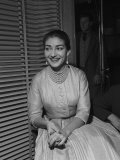 Maria Callas, 1957 Fotoprint