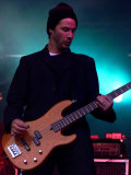 Keanu Reeves Played with His Band Dogstar, T on the River Concert, Northern Ireland, June 1999 Valokuvavedos