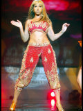 Beyonce,on 1st Night on Stage at Wembley Arena, November 2003 Reproduction photographique