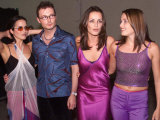 Dundalk Supergroup, the Corrs at Launch of Millennium Celebrations Northern Ireland Sep 1999 Fotografie-Druck