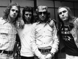 Slade Pop Group with Stand in Drummer Frank Lea, 1973 Fotografisk tryk