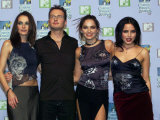 Pop Group the Corrs MTV Music Awards in Ireland, November 1999 Fotografie-Druck