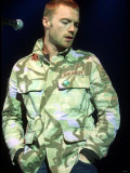 Ronan Keating, One Big No Anti War Concert at the Shepherds Bush Empire in London, March 2003 Photographie