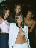 All Saints All Four All Friends All Got Dark Hair at Nicole Birthday Party Photographic Print