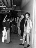 The Boomtown Rats in JapanWaiting to Go on Stage for Concert, May 1980 Photographic Print