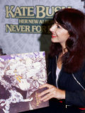 Kate Bush at Album Signing in Glasgow, October 1980 Photographic Print