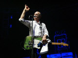 Status Quo Interview, Francis Rossi on Stage in Zurich, September 2005 Fotografisk tryk