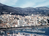 The French Riviera in the Principle of Monaco Photographic Print
