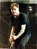 Bryan Adams Rock Star from Canada in Concert at Maine Road Football Ground Manchester Photographic Print