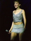 Kylie Minogue on Stage at Clyde Auditorium Glasgow, March 2001 Photographic Print