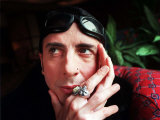 Singer Marc Almond Hands at Face Goggles Sunglasses on Forehead, April 1999 Photographie