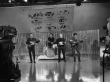 The Searchers in Action on the Studio Stage of Thank Your Lucky Stars at ABC Television Fotografisk tryk
