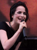 Singer Andrea Corr at the Party in the Park at Hyde Park for the Princes Trust, July 1999 Fotografie-Druck