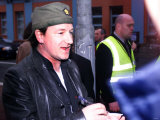 U2 Frontman Bono at the Hot Press Awards in Belfast at the BBC, April 2002 Photographic Print