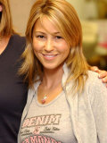 Rachel Stevens at Radio Clyde in Clydebank, September 2003 Fotografie-Druck