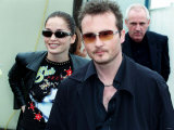 Jim Corr and His Sister Caroline from the Group the Corrs at the Radio One Day at Irvine, July 2000 Fotografie-Druck