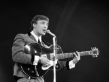 Gerry Marsden of Gerry and the Pacemakers at 1964 New Musical Express Poll Winners Awards Concert Fotografisk tryk