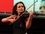 Sharon Corr at Irvine, July 2000 Fotografie-Druck