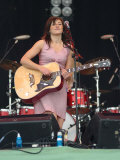 K T Tunstall Playing the Other Stage on Saturday, at the Glastonbury Festival, June 2005 Photographie