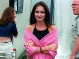 Andrea Corr from the Corrs Pop Group at the Radio One Day in Irvine, July 2000 Fotografie-Druck