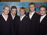 Westlife at Peoples Awards Being Held at the Royal Albert Hall, October 2000 Photographic Print