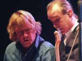 Francis Rossi and Rick Parfitt of Status Quo in the Clyde Auditorium, October 1999 Photographic Print