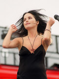 The Corrs Pop Group at One Big Sunday at Irvine Beach Park, July 2000 Fotografie-Druck