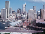 Skyline in Central Sydney, New South Wales, Australia Photographic Print
