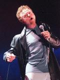 Mick Hucknall, Konzert der Gruppe Simply Red, 13. März 2000 Fotografie-Druck